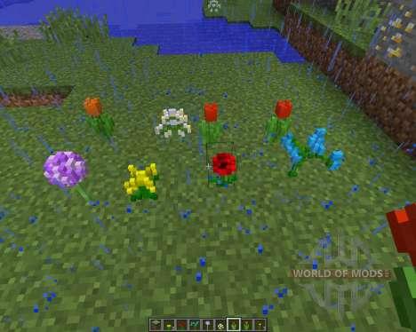 3D NATURE PACK v2.2 [16x][1.8.1] для Minecraft