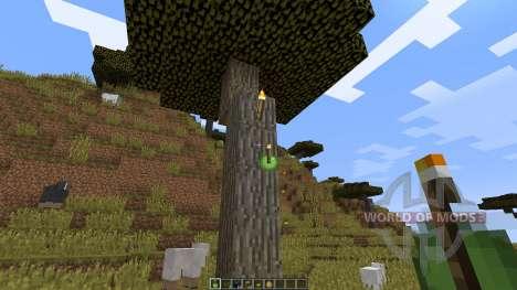 Throwable Torch [1.8] для Minecraft