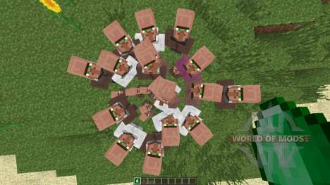 Villagers Need Emeralds [1.7.2] для Minecraft