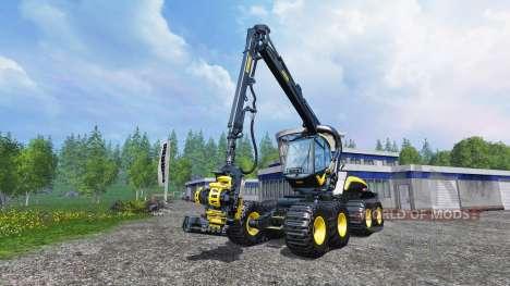 PONSSE Scorpion King v1.1 для Farming Simulator 2015