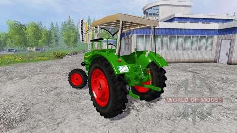 Deutz-Fahr D40 для Farming Simulator 2015
