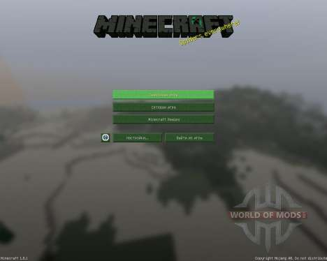 SaltCraft [32x][1.8.1] для Minecraft