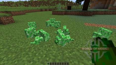 Creepermite [1.8] для Minecraft