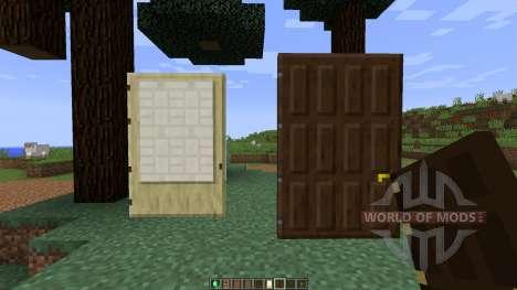 Roxas Tall Doors [1.8] для Minecraft