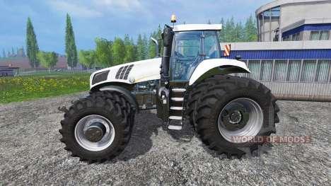 New Holland T8.320 White Dualls для Farming Simulator 2015