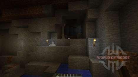 CaveBiomes [1.7.10] для Minecraft