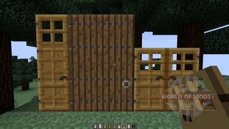 Roxas Tall Doors [1.7.10][1.7.2] для Minecraft