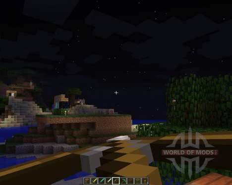 CENTERED RESOURCE PACK [16x][1.8.1] для Minecraft
