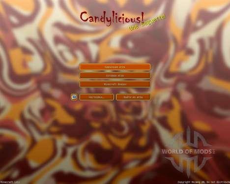 Candylicious [16x][1.8.1] для Minecraft
