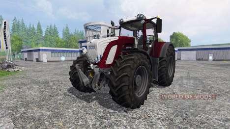 Fendt 924 Vario - 939 Vario [bordeaux] для Farming Simulator 2015