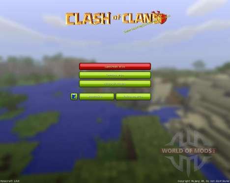 Clash of Mines Resource Pack [32x][1.8.8] для Minecraft