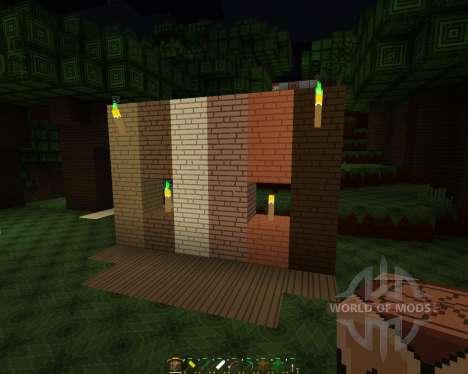 Simplistic Warrior [32x][1.8.1] для Minecraft