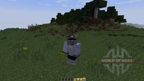 The Fallout [1.8] для Minecraft