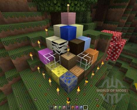 CottonCraft [16x][1.8.1] для Minecraft