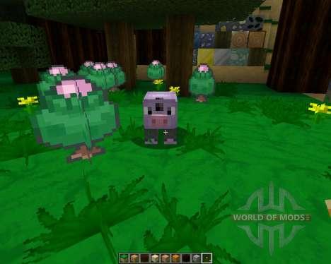 Pokemobs [64x][1.8.1] для Minecraft