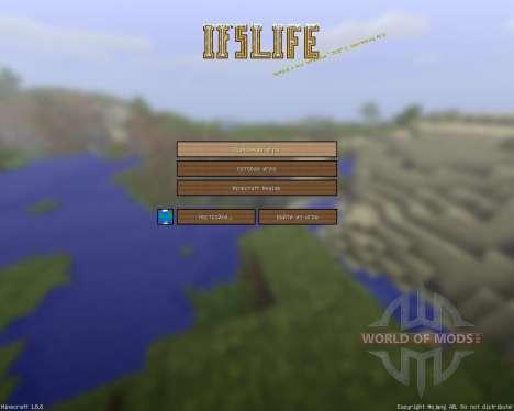 Ifs Life Cartoony Resource Pack [128x][1.8.8] для Minecraft