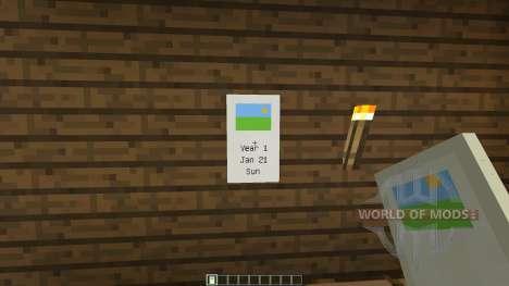 Calendar [1.7.2] для Minecraft