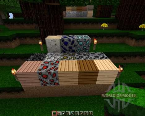 Evolutrium Craft HD Resource Pack [64x][1.8.8] для Minecraft