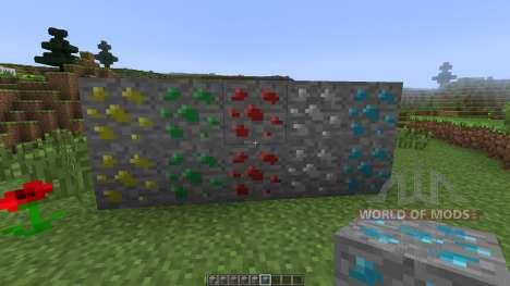 Double Ore [1.7.10] для Minecraft