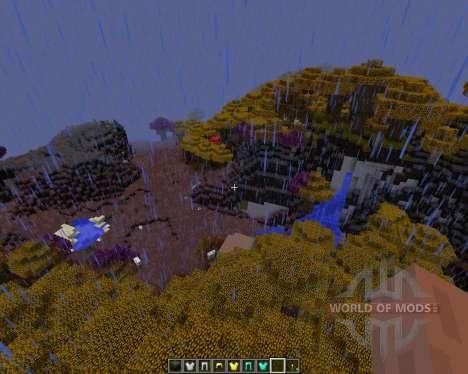 Norzeteus Space [128x][1.8.1] для Minecraft