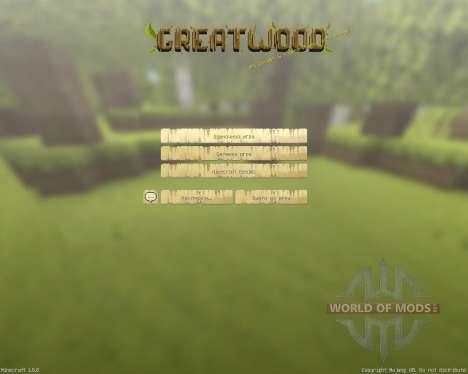 GreatWood Resource Pack [16x][1.8.8] для Minecraft