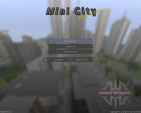 ASLs Mini City Texture Pack [32x][1.8.1] для Minecraft