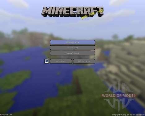 Kleneex 3D [16x][1.8.8] для Minecraft