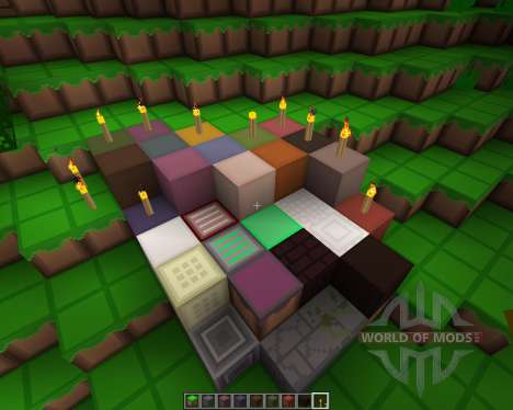 Technos Timeless Textures [16x][1.8.8] для Minecraft
