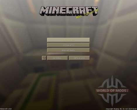 Modern craft [16x][1.8.8] для Minecraft