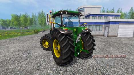 John Deere 7200R v2.0 для Farming Simulator 2015