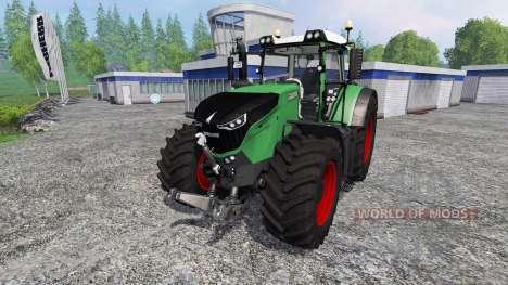 Fendt 1050 Vario Grip wheels для Farming Simulator 2015