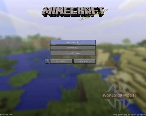 Simplified Minecraft Textures [16x][1.8.8] для Minecraft