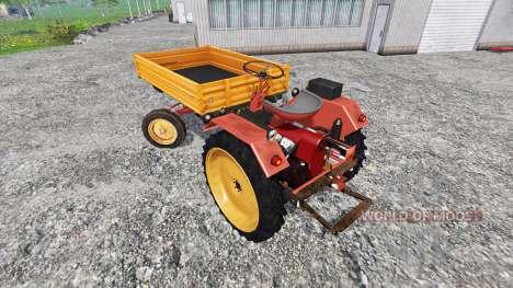 Fortschritt GT 124 для Farming Simulator 2015