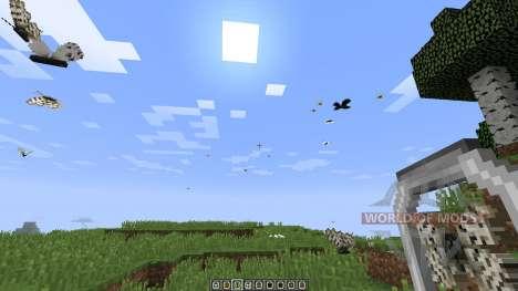 Butterfly Mania [1.8] для Minecraft