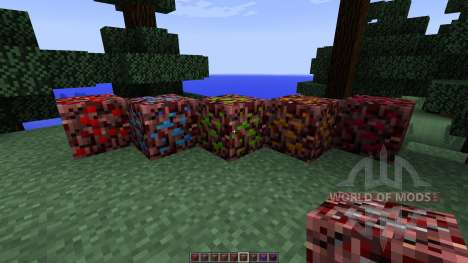 More Nether Ores [1.7.10] для Minecraft