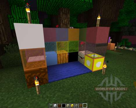 MWorld26-craft [64x][1.8.1] для Minecraft