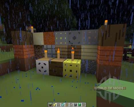 3D Simplicity [16x][1.8.1] для Minecraft