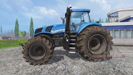 New Holland T8.320 v2.2 для Farming Simulator 2015