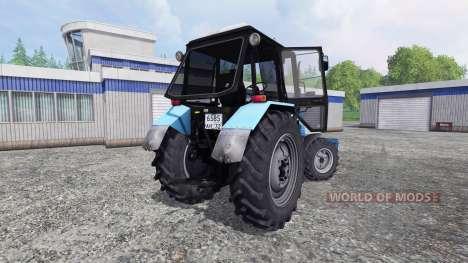 МТЗ-1025 Беларус [отвал] для Farming Simulator 2015