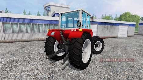 Steyr 8090A Turbo SK1 для Farming Simulator 2015