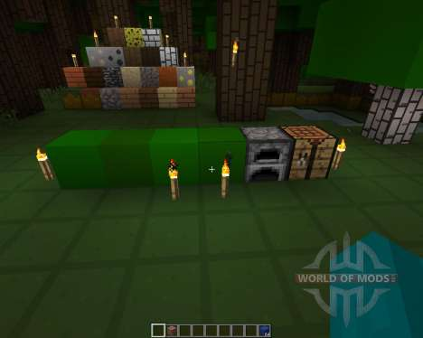 OnionCraft Resource Pack [16x][1.8.8] для Minecraft