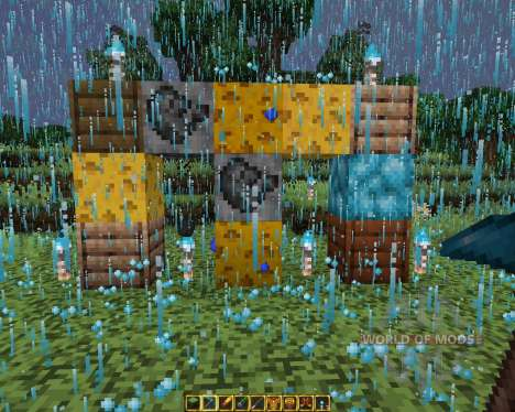 UHC Resource Pack Blue Fire Edition [16x][1.8.8] для Minecraft