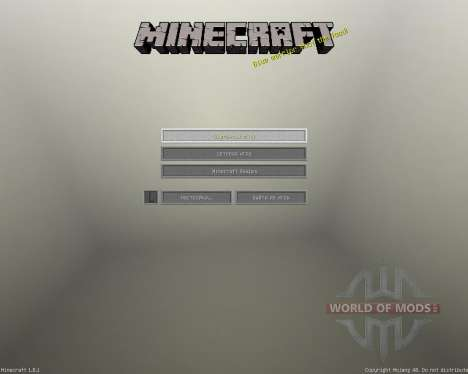 Realm of Idnaya - Big B [32x][1.8.1] для Minecraft