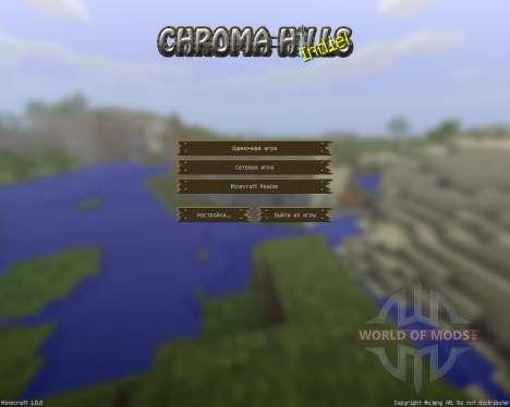 Chroma Hills RPG Resource Pack [128x][1.8.8] для Minecraft