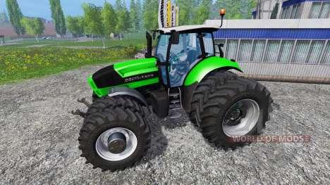 Deutz-Fahr Agrotron X 720 Ploughing Spec для Farming Simulator 2015