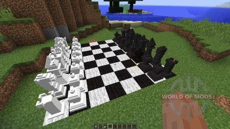 MineChess [1.8] для Minecraft