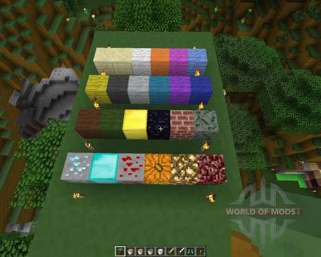 Melvercraft Pack [16x][1.8.8] для Minecraft