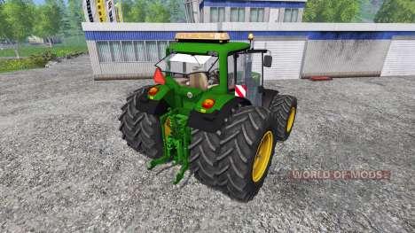 John Deere 6830 v1.1 для Farming Simulator 2015