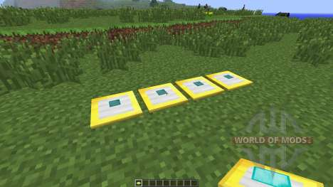 Iron Pressure Plate [1.6.4] для Minecraft