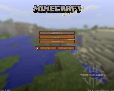 TE texture [32x][1.8.1] для Minecraft